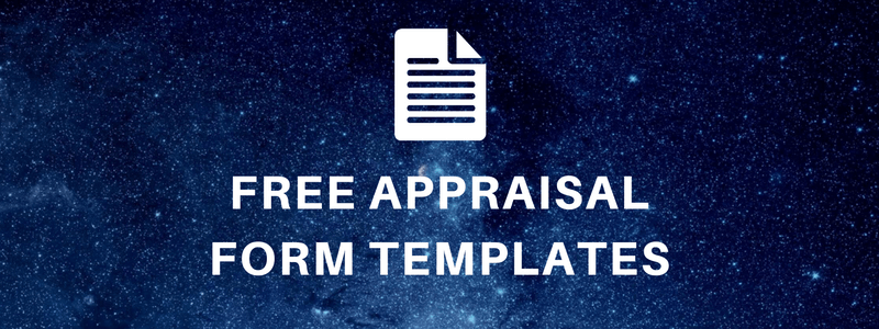 Appraisal Forms U2013 Free Template U2013 Ready To Use  Free Appraisal Forms